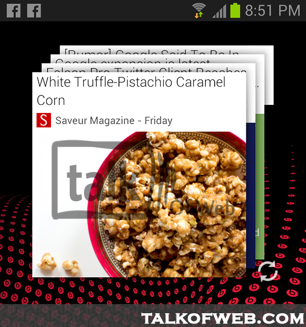 Google Currents Widget Talk Of Web