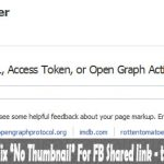 Debugger Tool For Facebook Link Share