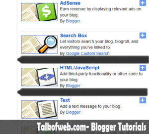 Html_Javascript widget in blogger