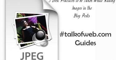 Best Practices while adding Images to Blog Posts
