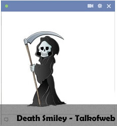 Death Facebook Smiley