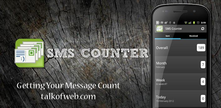 SMS Counter - Counting Your On Going and Incoming Messages