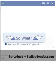 So What - Facebook Smiley