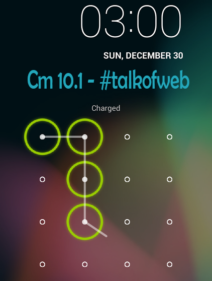 Cyanogen Mod Security Pattern