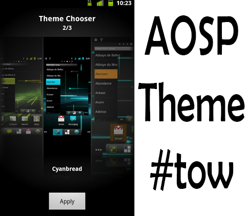Theme choose cm 10