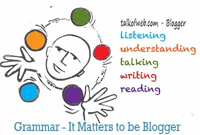 Do you master the language in which you want to blog
