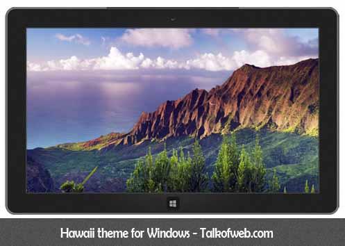 Hawaii Theme For Windows