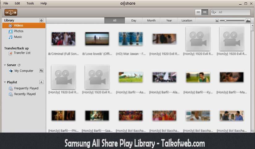Samsung AllShare Play For Laptop
