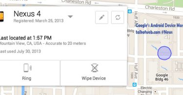 Android Device manager and locator