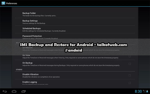 SMS Backup and Restore For Android