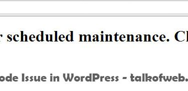 WordPress Stuck on Maintenance Mode