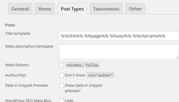 3- WordPress SEO For Posts