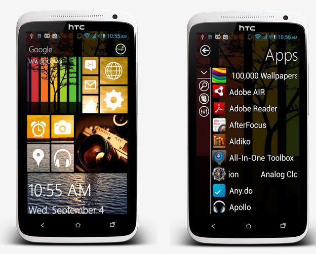 Windows 8 Launcher For Android 1
