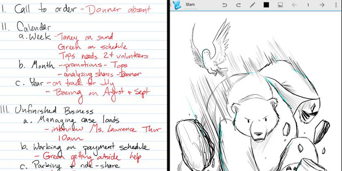 Papyrus Android Notes Taking Applications