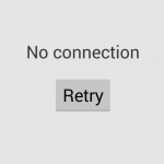 no connection playstore