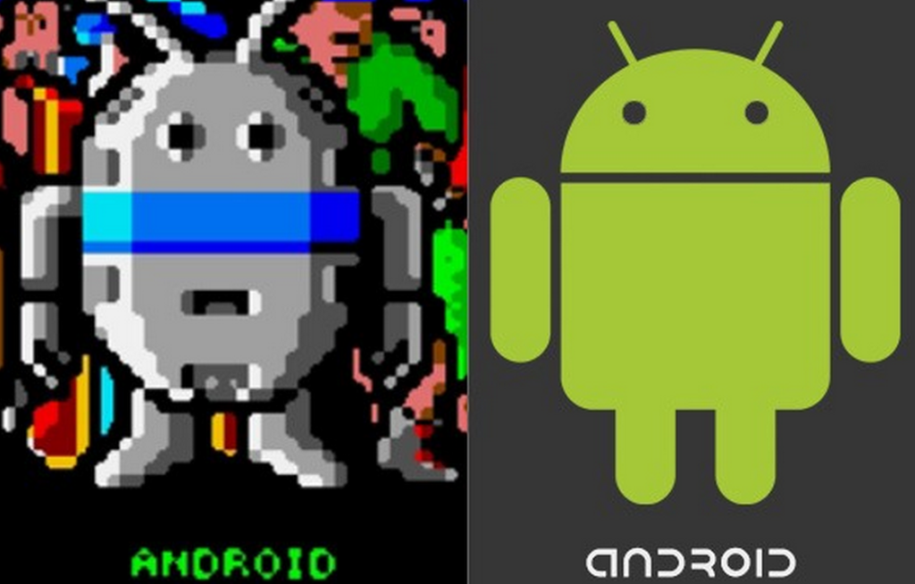 Android Inspired From A Game Character Name as Android