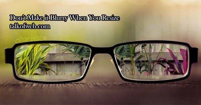 blury-to-clear