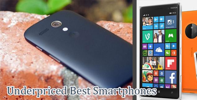 Most Underpriced best Phones