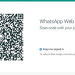 QR Code Web Version of Whatsapp