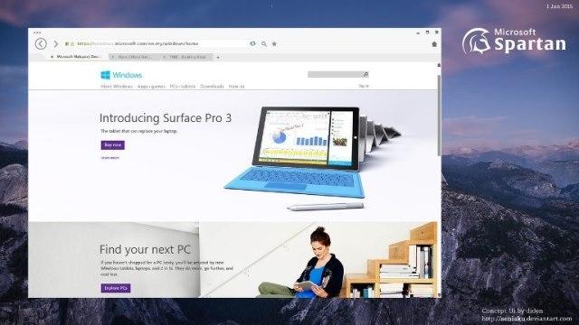 Windows 10 - Spartan 2