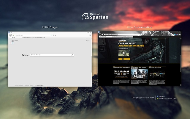 Windows 10 - Spartan