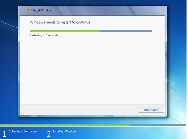 how to install windows 7 - 14