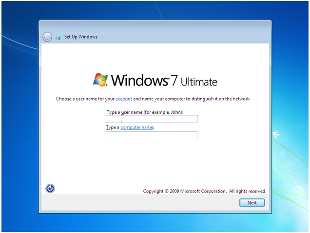 how to install windows 7 - 15