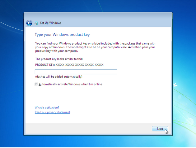 how to install windows 7 - 17