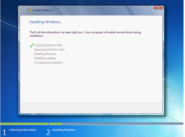 how to install windows 7 - 8