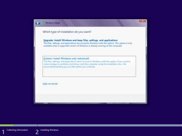 how to install windows 8 - 6