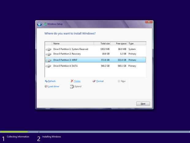 how to install windows 8 - 8