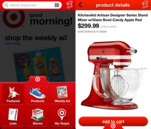 best apps - target