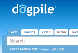 search engine - dogpile