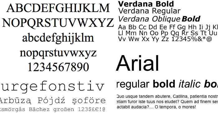 fonts-web-safe