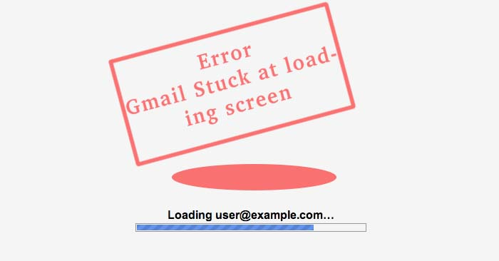 gmail not loading