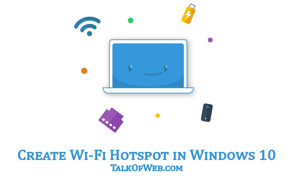 wifi hotspot in windows 10