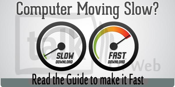 make computer fast