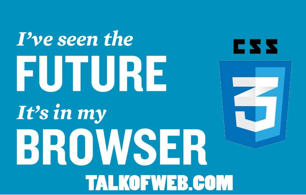 css3 - Talk of Web Love For Css3