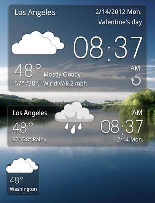 Best Android Weather Widgets and Applications