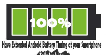 Extended Android Battery Timing