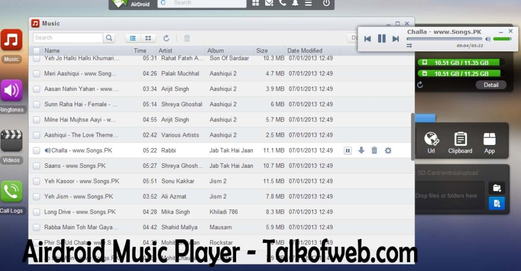 AirDroid Music Player