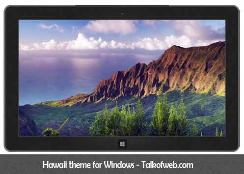 Hawaii Theme For Windows