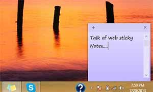 Windows Sticky Notes