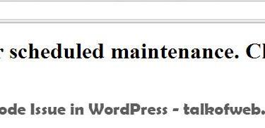 WordPress Stuck on Maintenance Mode