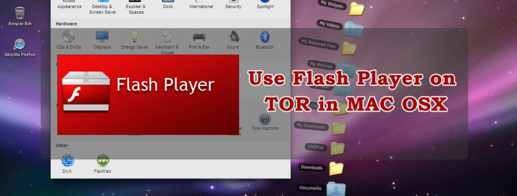 using flash tor browser