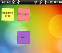 Color Note Widget