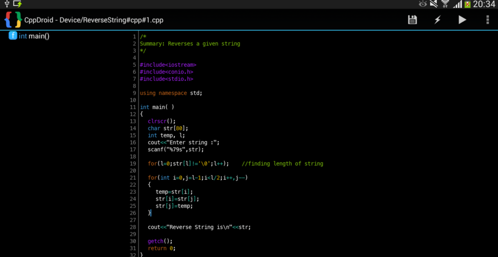 CPP Compiler Android