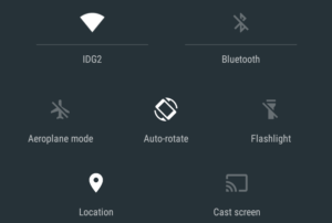 Android 5.0 Notification Bar