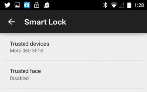 Android 5.0 Smart Lock