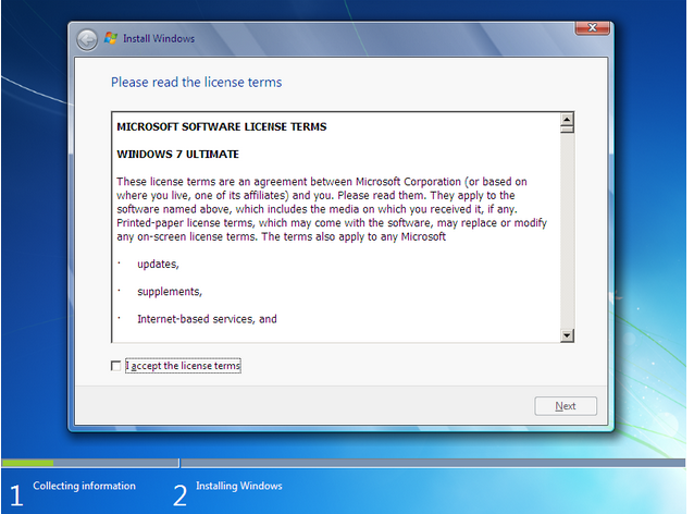 how to install windows 7 - 5